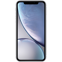 Apple iPhone XR (128GB White) at £25.00 on goodybag 3GB with UNLIMITED mins; UNLIMITED texts; 3000MB of 4G data. £48.42 a month.
