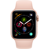 Apple Watch Series 4 40mm(GPS) Gold Aluminium Case with Pink Sand Sport Band