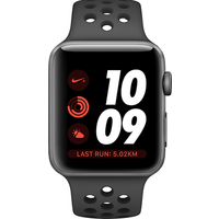 Apple Watch Series 4 Nike+ 44mm (GPS + Cellular) Space Grey Aluminium Case with Anthracite/Black Nike Sport Band (Refurbished Grade A)