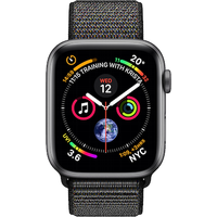 Apple Watch Series 4 44 mm (GPS+Cellular) Space Grey Aluminium Case with Black Sport Loop