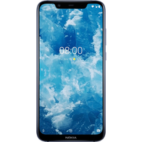 Nokia 8.1 Dual SIM (64GB Blue) at £99.99 on Red Extra (24 Month(s) contract) with UNLIMITED mins; UNLIMITED texts; 5000MB of 4G data. £26.00 a month.