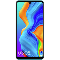Huawei P30 Lite (128GB Peacock Blue) at £100.00 on goodybag 4GB with UNLIMITED mins; UNLIMITED texts; 4000MB of 4G data. £33.13