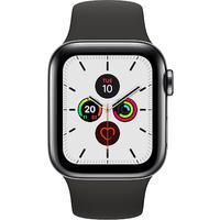 Apple Watch Series 5 44mm (GPS+Cellular) (Space Black)
