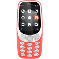 Nokia 3310 (2017) 2G (Warm Red Refurbished Grade A)