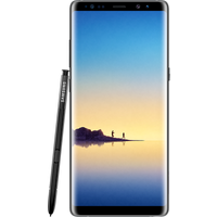 Samsung Galaxy Note 8 (64GB Midnight Black Pre-Owned Grade A) at £200.00 on No contract £36.86 a month.
