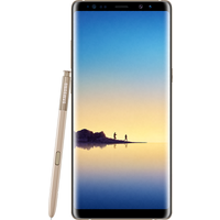 Samsung Galaxy Note 8 (64GB Maple Gold Pre-Owned Grade C) at £200.00 on No contract £26.28 a month.