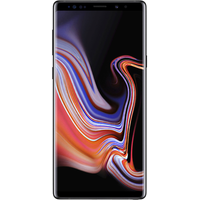 Samsung Galaxy Note9 (128GB Black) at £200.00 on goodybag 20GB with UNLIMITED mins; UNLIMITED texts; 20000MB of 4G data. £49.74