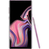 Samsung Galaxy Note9 (128GB Lavender) at £25.00 on goodybag 20GB with UNLIMITED mins; UNLIMITED texts; 20000MB of 4G data. £156.