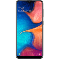 Samsung Galaxy A20e (32GB White) at £50.00 on goodybag 3GB with UNLIMITED mins; UNLIMITED texts; 3000MB of 4G data. £20.98 a mon