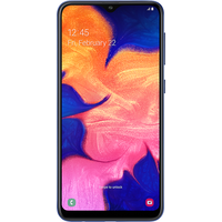 Samsung Galaxy A10 Dual Sim (32GB Blue) at £50.00 on goodybag 6GB with UNLIMITED mins; UNLIMITED texts; 6000MB of 4G data. £25.7