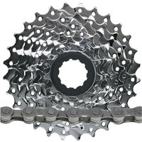 SRAM PG830 8sp MTB Cassette + Chain Bundle