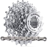SRAM PG970 9sp MTB Cassette + Chain Bundle