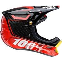 100% Aircraft DH Helmet - Bi-Turbo Red
