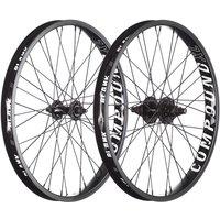 Blank Compound XL BMX Wheelset