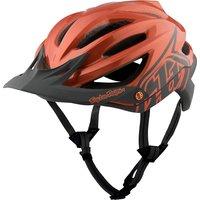 Troy Lee Designs A2 MIPS Helmet - Decoy Orange-Grey 2017