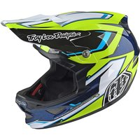 Troy Lee Designs D3 Composite - Cadence Black-Yellow 2017
