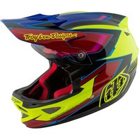 Troy Lee Designs D3 Composite - Cadence Yellow-Red 2017