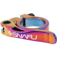 Snafu Race QR Seat Clamp - Jet Fuel