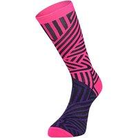 Ratio Dash 20 cm Sock (Pink-Purple) AW18