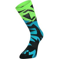 Ratio Fracture 16 cm Sock (Blue-Green) AW18