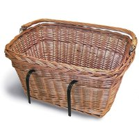 Basil Wicker Rectangular Front Basket