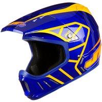 JT Racing Evo Helmet - Blue-Orange