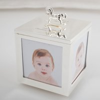 Engraved Baby Photo Musical Trinket Box - Musical Gifts