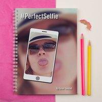 Photo Upload Notebook - Perfect Selfie - Selfie Gifts
