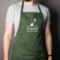 Personalised Gardening Apron - Can You Dig It? - Gardening Gifts