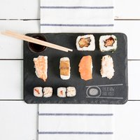 Personalised Slate Sushi Serving Board - How I Roll - Sushi Gifts