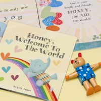 Personalised Welcome To The World Book - Book Gifts