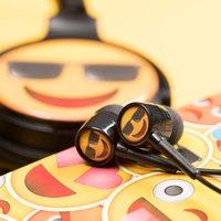 Sunglasses Emoji Earphones - Music Gifts