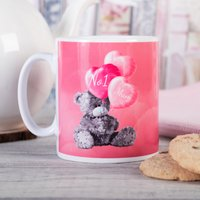 Photo Upload Me To You Mug - No 1 Mum Balloons - Cutlery Gifts