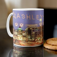 Personalised Mug - Name in Lights - Lights Gifts