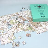 Postcode Puzzle - A Personalised jigsaw map of your house - Jigsaw Gifts