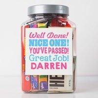 Personalised American Retro Sweet Jar - Nice One! - Nice Gifts