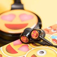 Love Eyes Emoji Earphones - Music Gifts