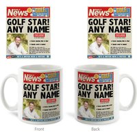 Photo Upload Mug - Golfing News - News Gifts