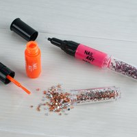3 in 1 Nail Art Pen Set - Neon Colours - Colours Gifts