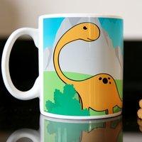 Personalised Mug - Dinosaur - Dinosaur Gifts