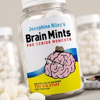 Image of Personalised Mints - Brain Mints