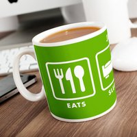 Personalised Mug - Football Life - Football Gifts