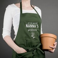 Personalised Gardening Apron - Do Not Disturb! - Gardening Gifts