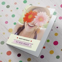 Personalised Card - To A Special Daughter - Daughter Gifts