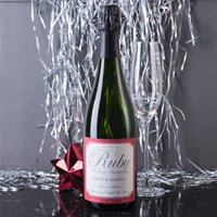 Personalised Cava - Ruby Anniversary - Wedding Anniversary Gifts