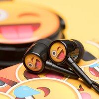 Cheeky Emoji Earphones - Music Gifts