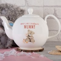 Personalised Me To You Bone China Teapot - Beauteaful - Teapot Gifts