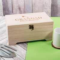 Personalised Wooden Box - Head Gardener - Gardening Gifts