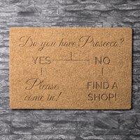 Personalised Outdoor Doormat - Yes, No - Outdoor Gifts