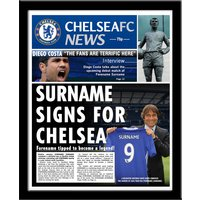 Personalised Chelsea FC News - Chelsea Fc Gifts